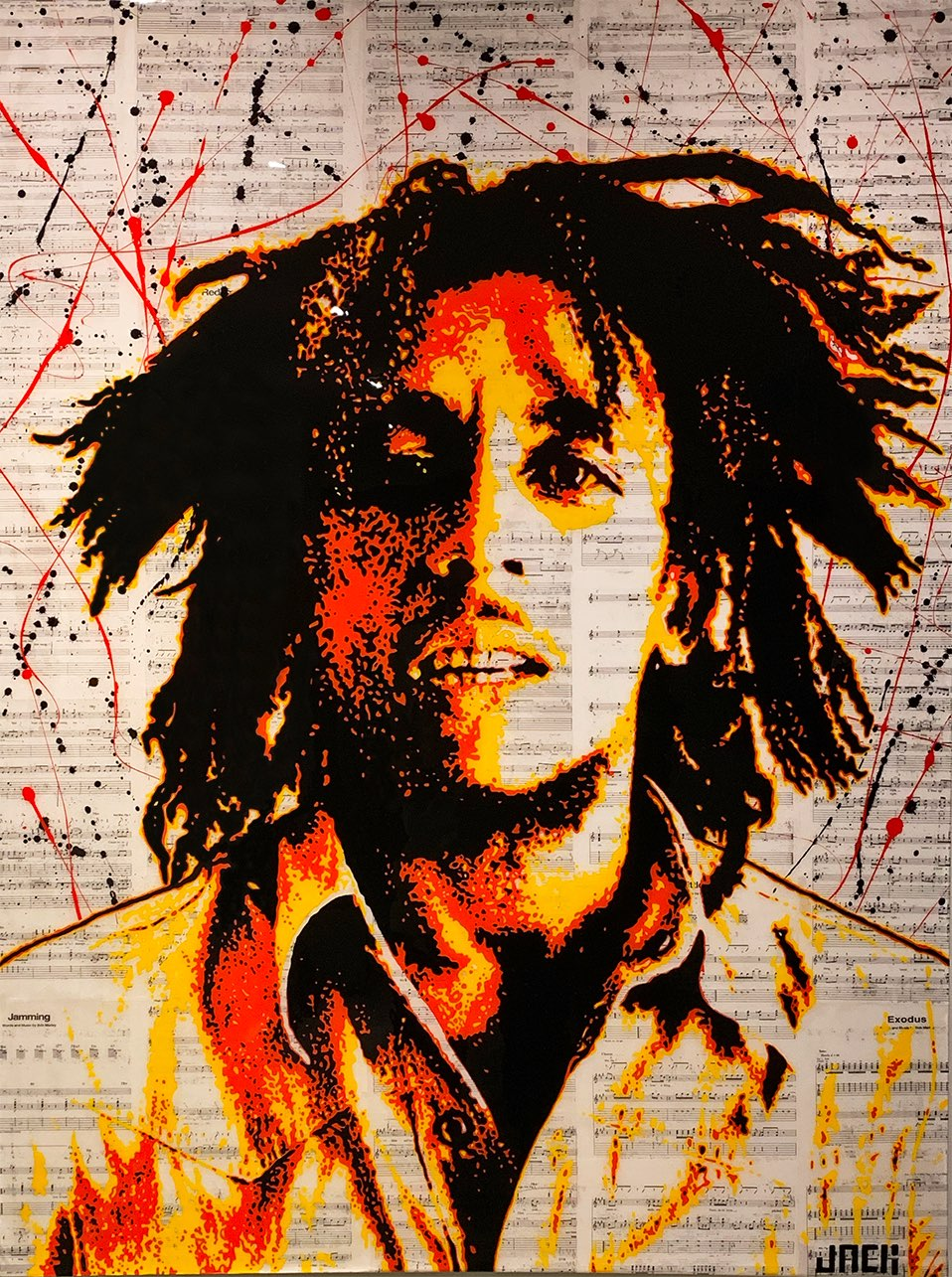 A Portrait of Bob Marley
