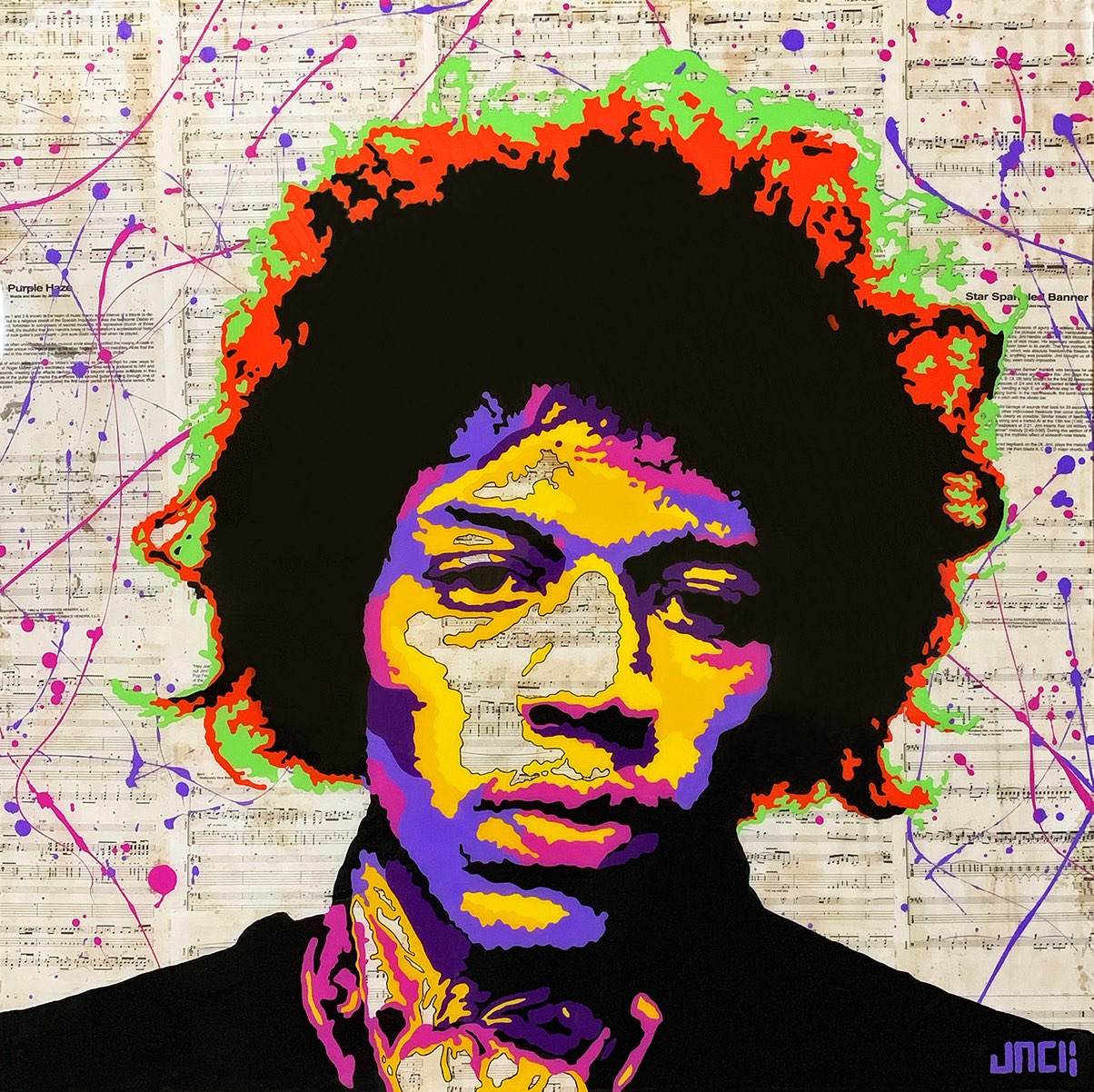 SOLD – Jimi Hendrix