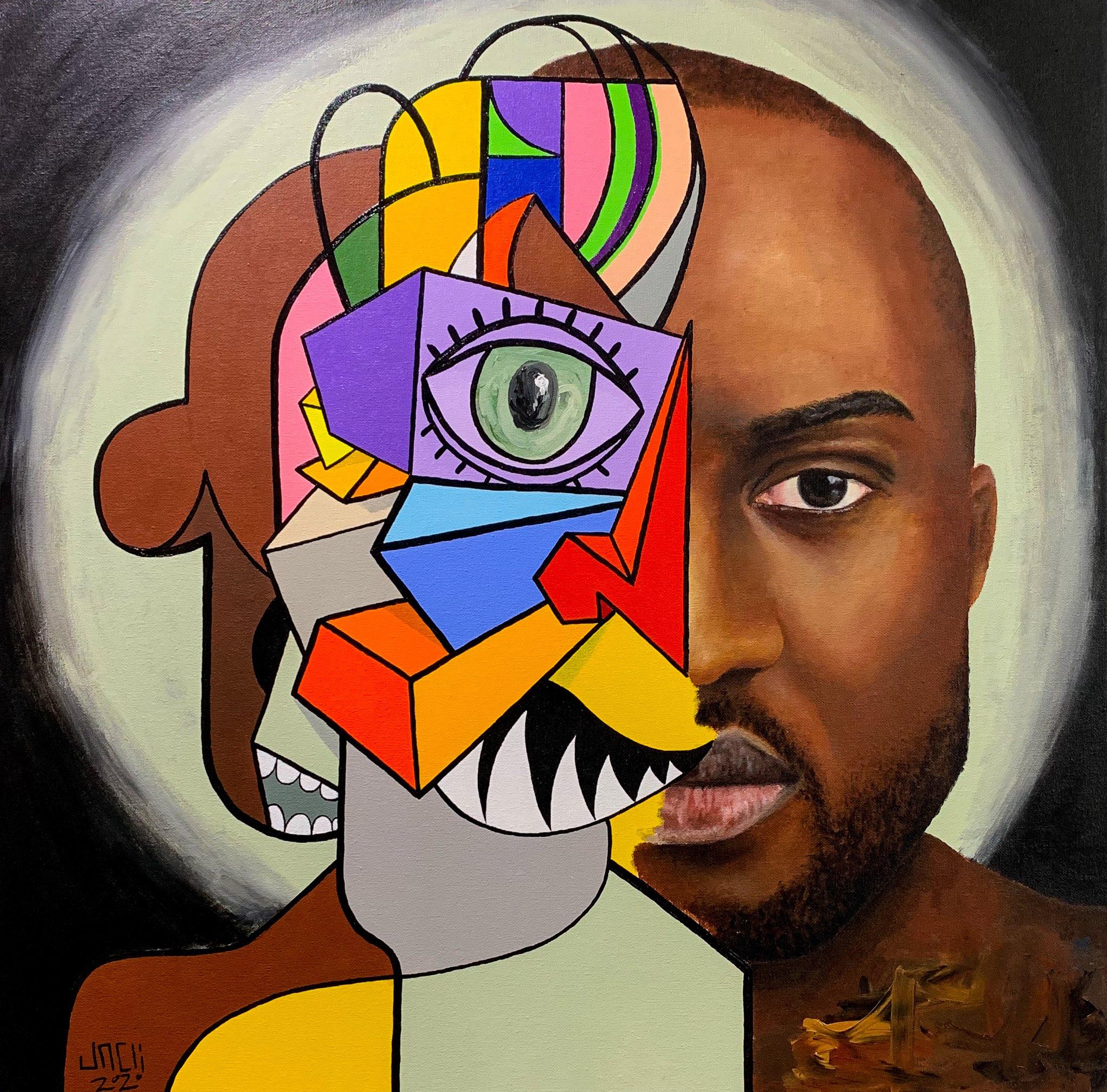 Human Head: Virgil Abloh model