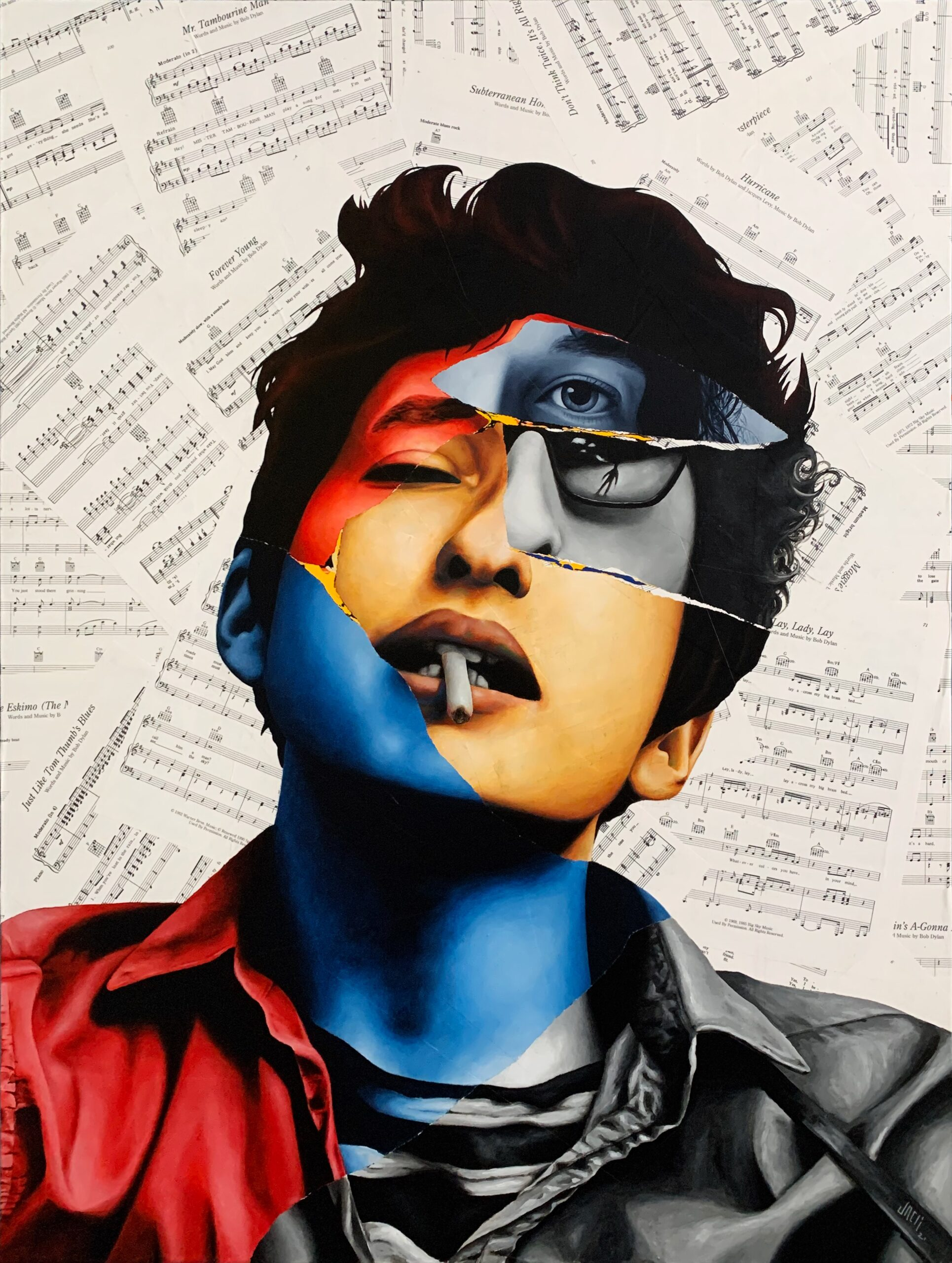 A Portrait of Bob Dylan